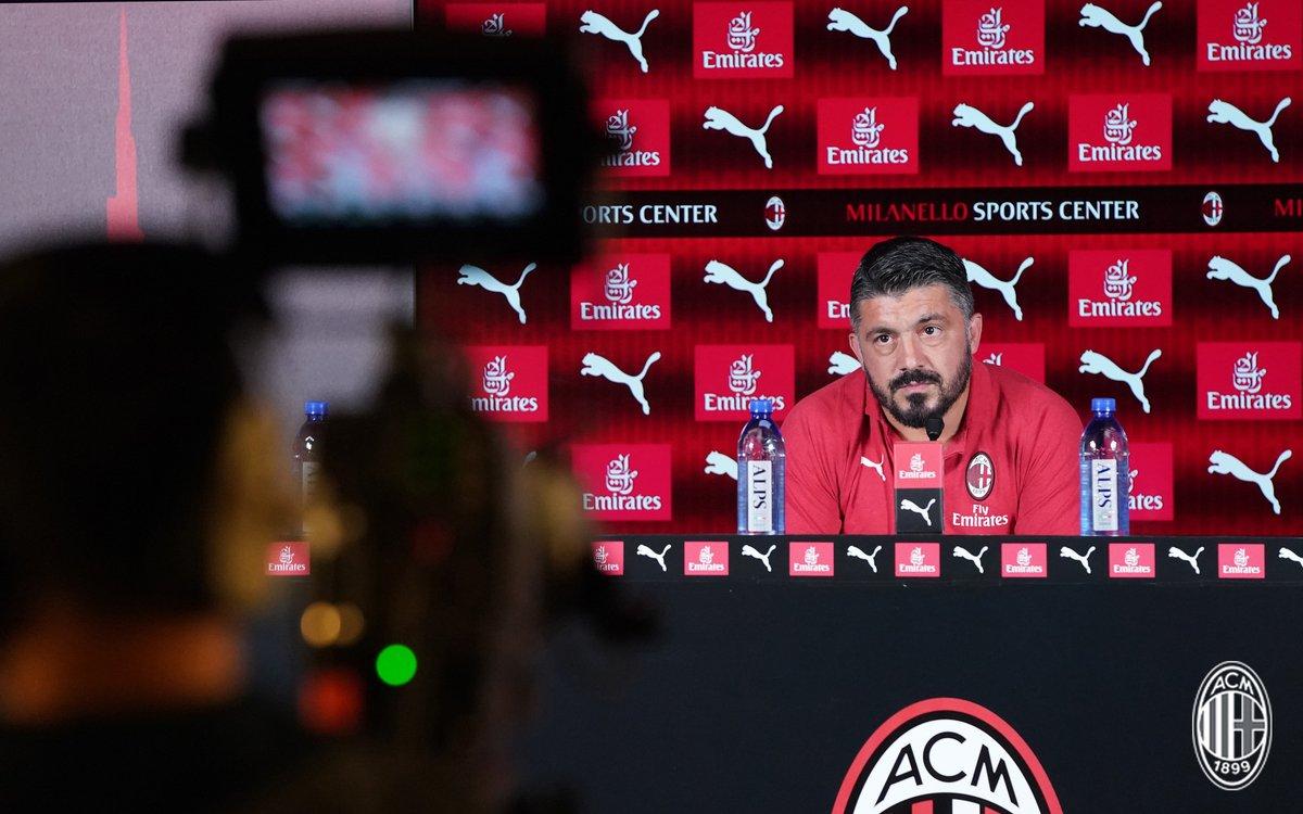 Milan - Sampdoria, i convocati rossoneri e le parole di Gattuso