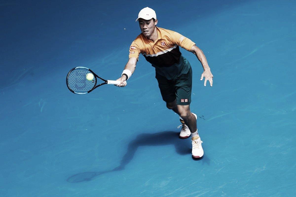 Calor ajuda, e Nishikori vira contra Majchrzak pelo Australian Open
