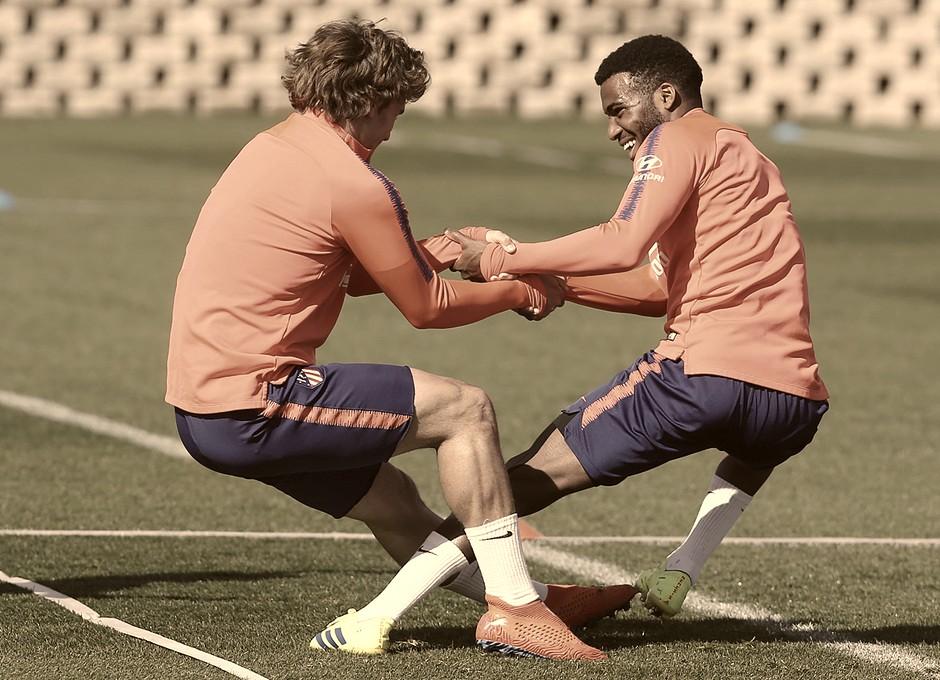 Diego Costa, Savic y Lucas, bajas en el entrenamiento