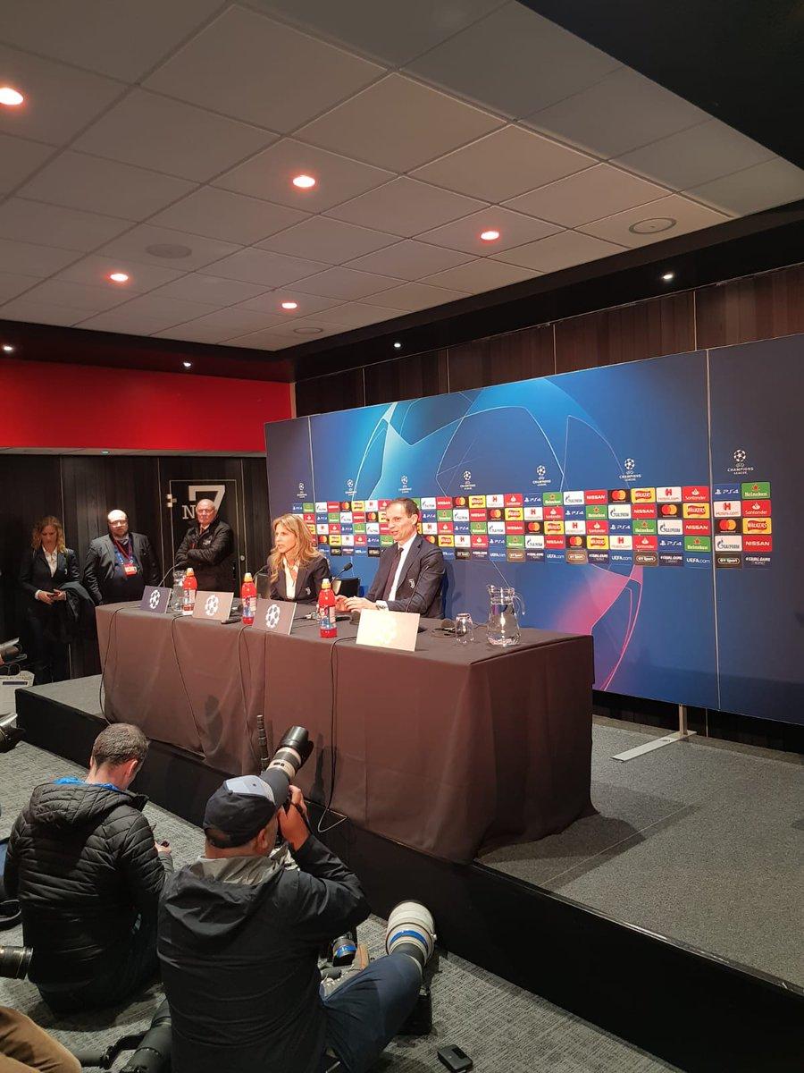 Manchester United - Juventus: la conferenza stampa di Allegri e Ronaldo