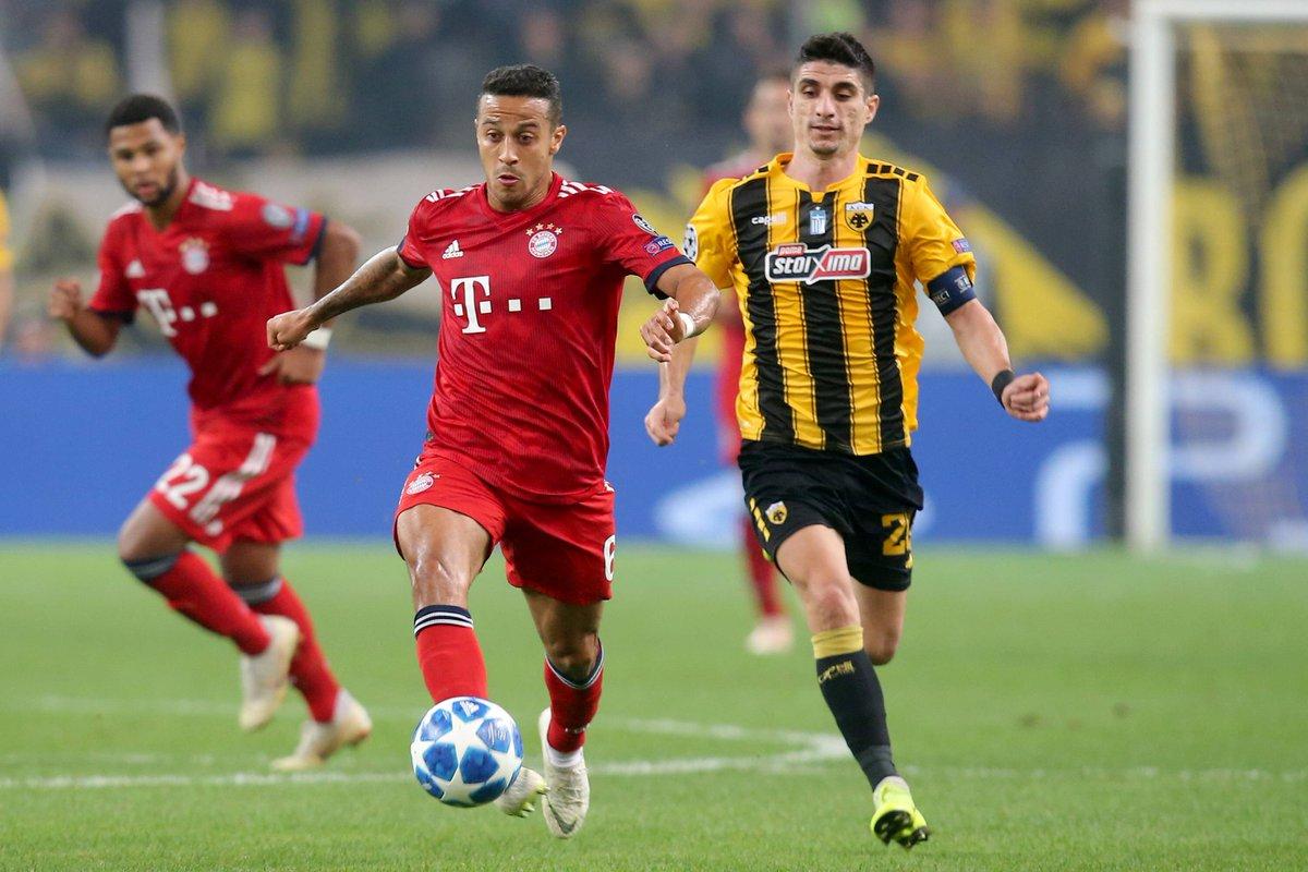 Champions League- Martinez apre, Lewandowski chiude: Bayern corsaro ad Atene (0-2)