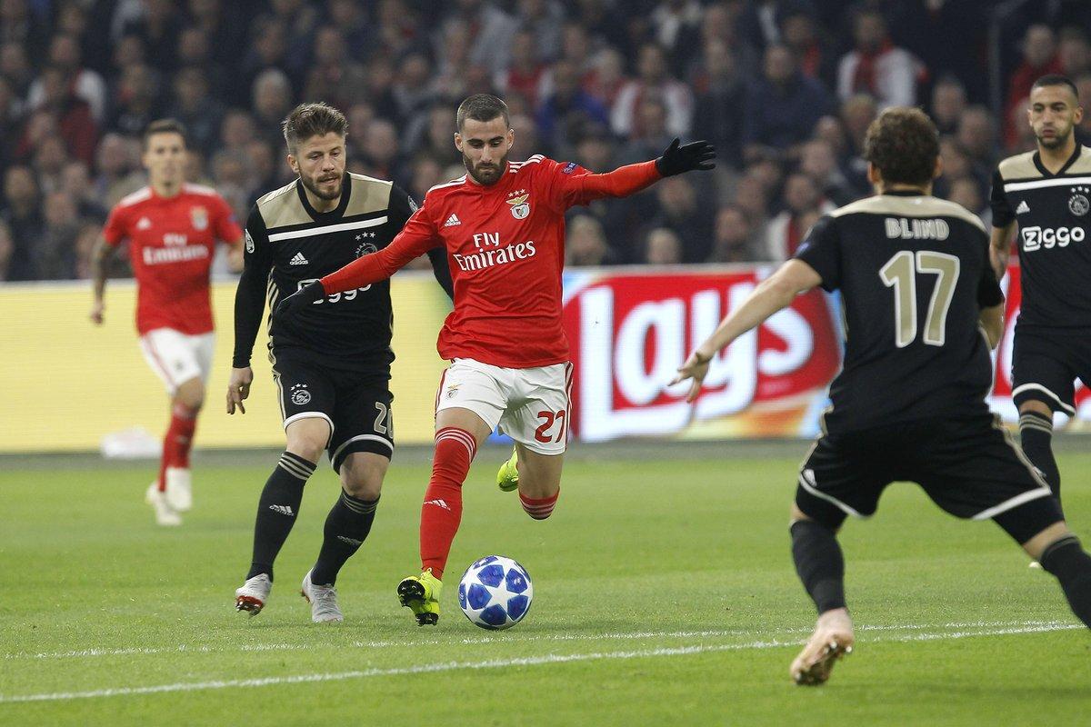 Champions League- Ajax vince allo scadere contro il Benfica