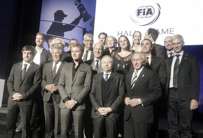 Homenaje a Michael Schumacher en el Salón de la Fama