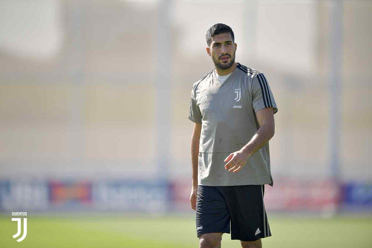 Juventus: intervento riuscito per Emre Can, si valuta Sami Khedira in vista del Cagliari