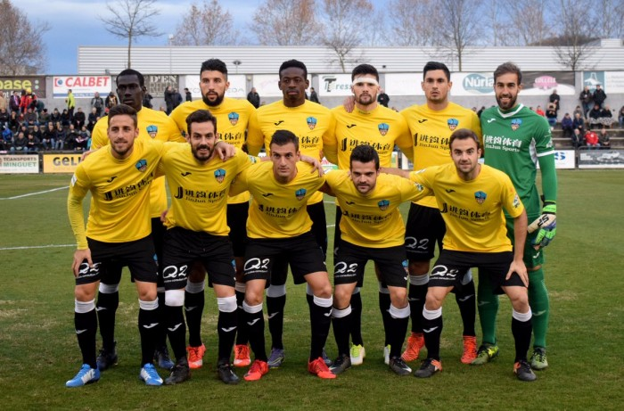El Olot alarga el mal momento del Lleida