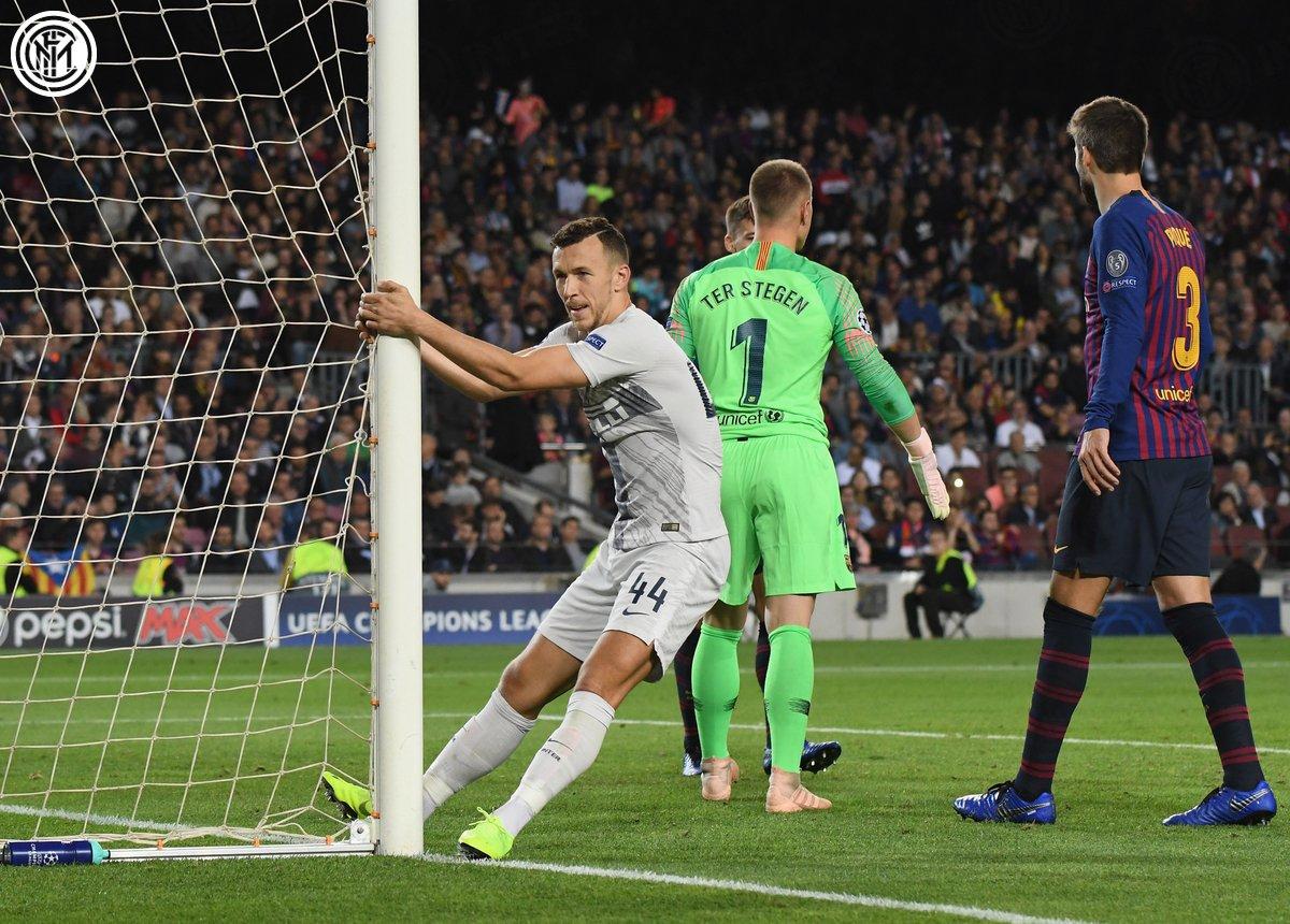 Champions League - l'Inter ci prova, ma il Barcellona non fa sconti. Rafinha-Alba firmano il 2-0