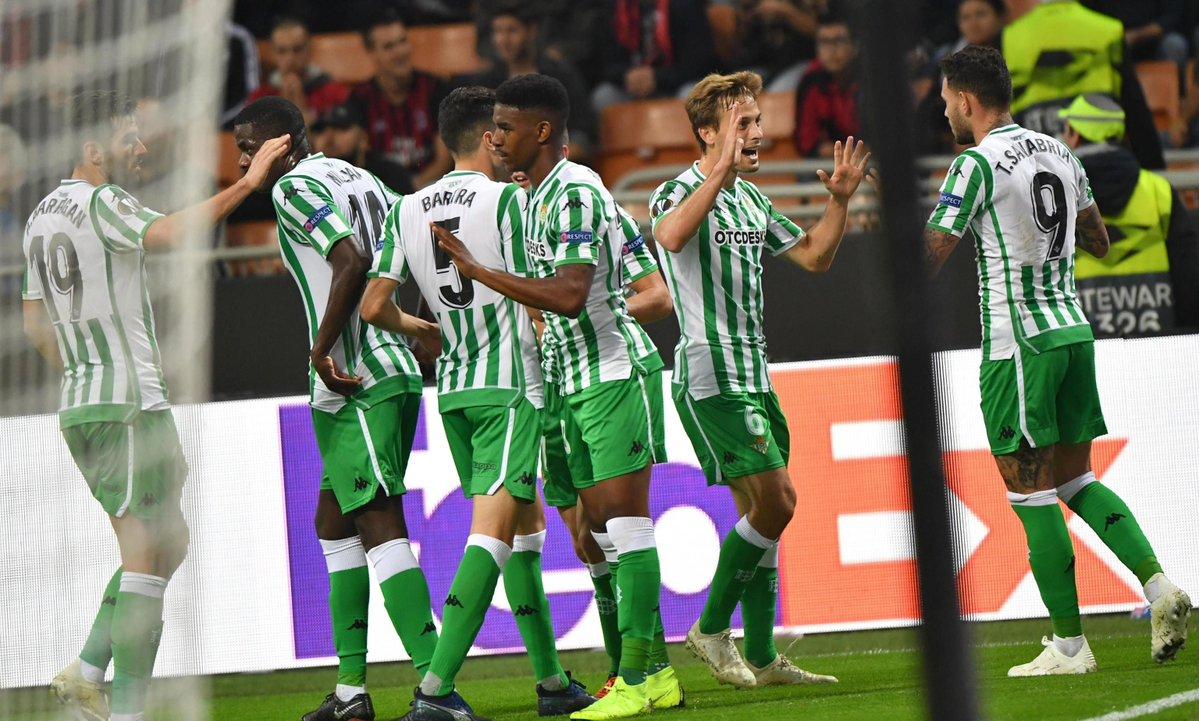Europa League - Il Betis passa a San Siro: battuto 1-2 il Milan