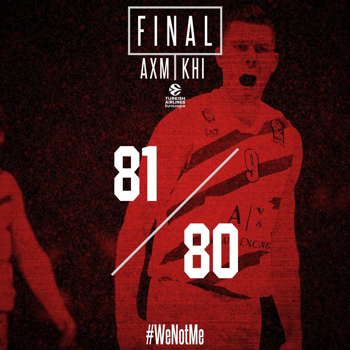 Eurolega, Milano che brivido: i biancorossi vincono sul finale contro ilKhimki (81-80)