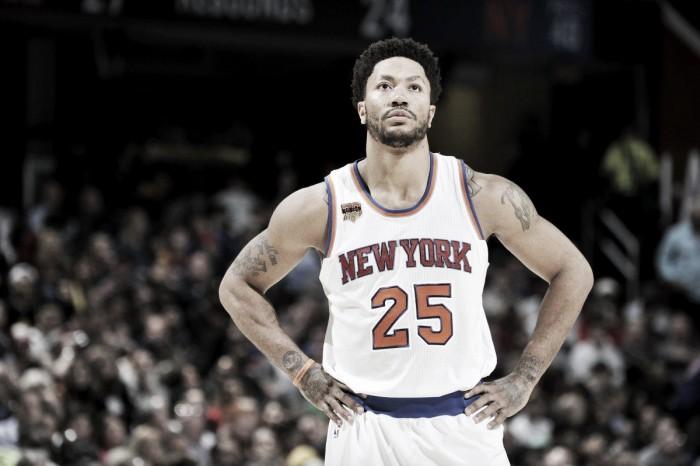 NBA, l'ultimo infortunio di Derrick Rose: avventura ai Knicks al capolinea?
