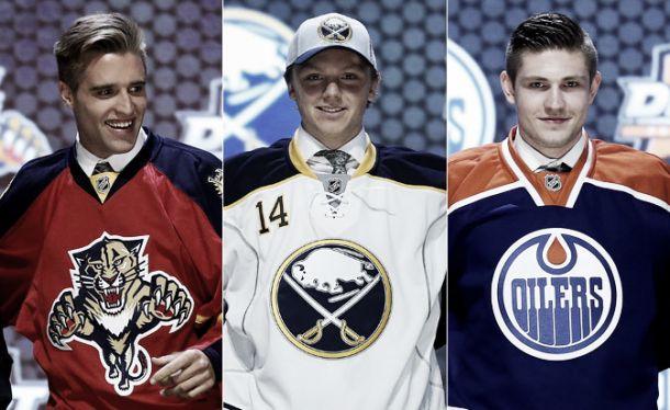 Com Ekblad de first pick, NHL inicia temporada com draft agitado