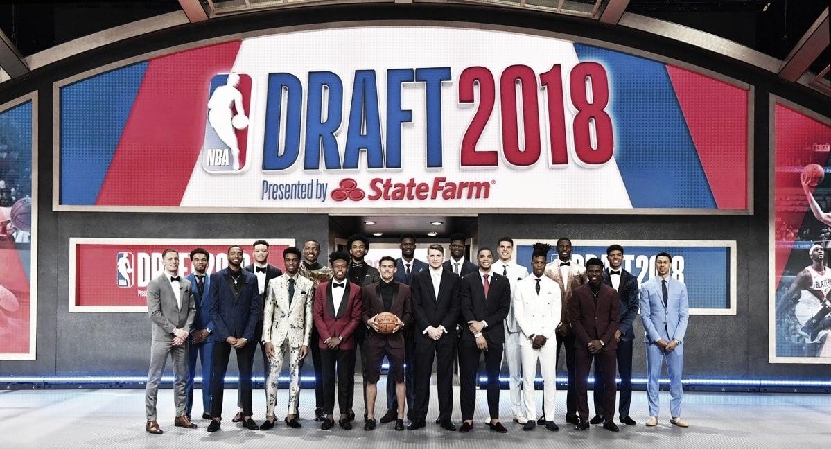 Draft de la NBA 2018, vía @NBA (Twitter)
