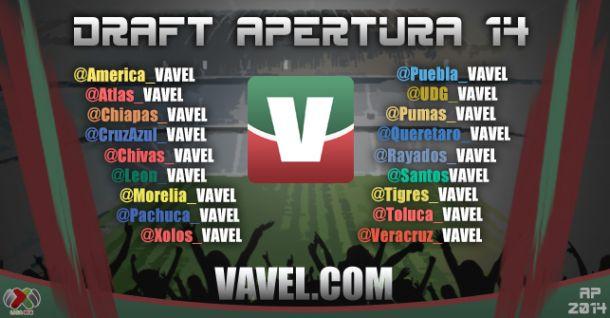 Draft del Apertura Liga MX 2014