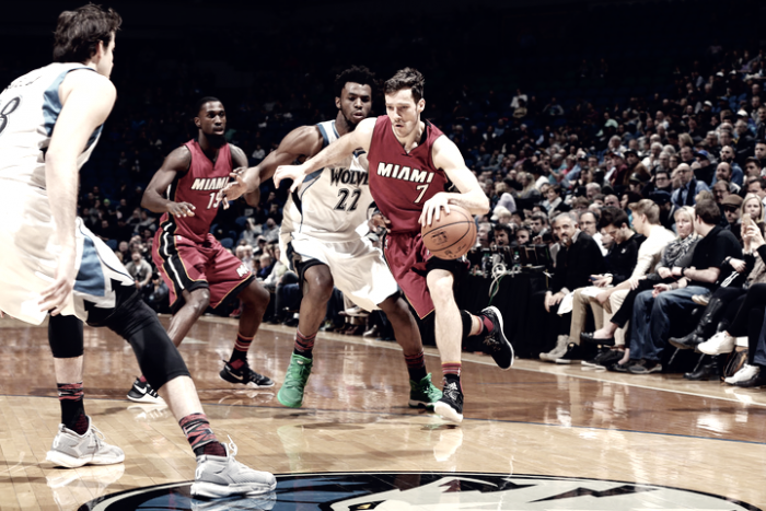 NBA - Dragic trascina Miami all'undicesima di fila. Denver in scioltezza sui Mavs