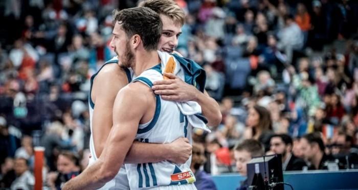 EuroBasket 2017 - La Slovenia ferma la corsa della Lettonia nella partita più spettacolare (103-97)