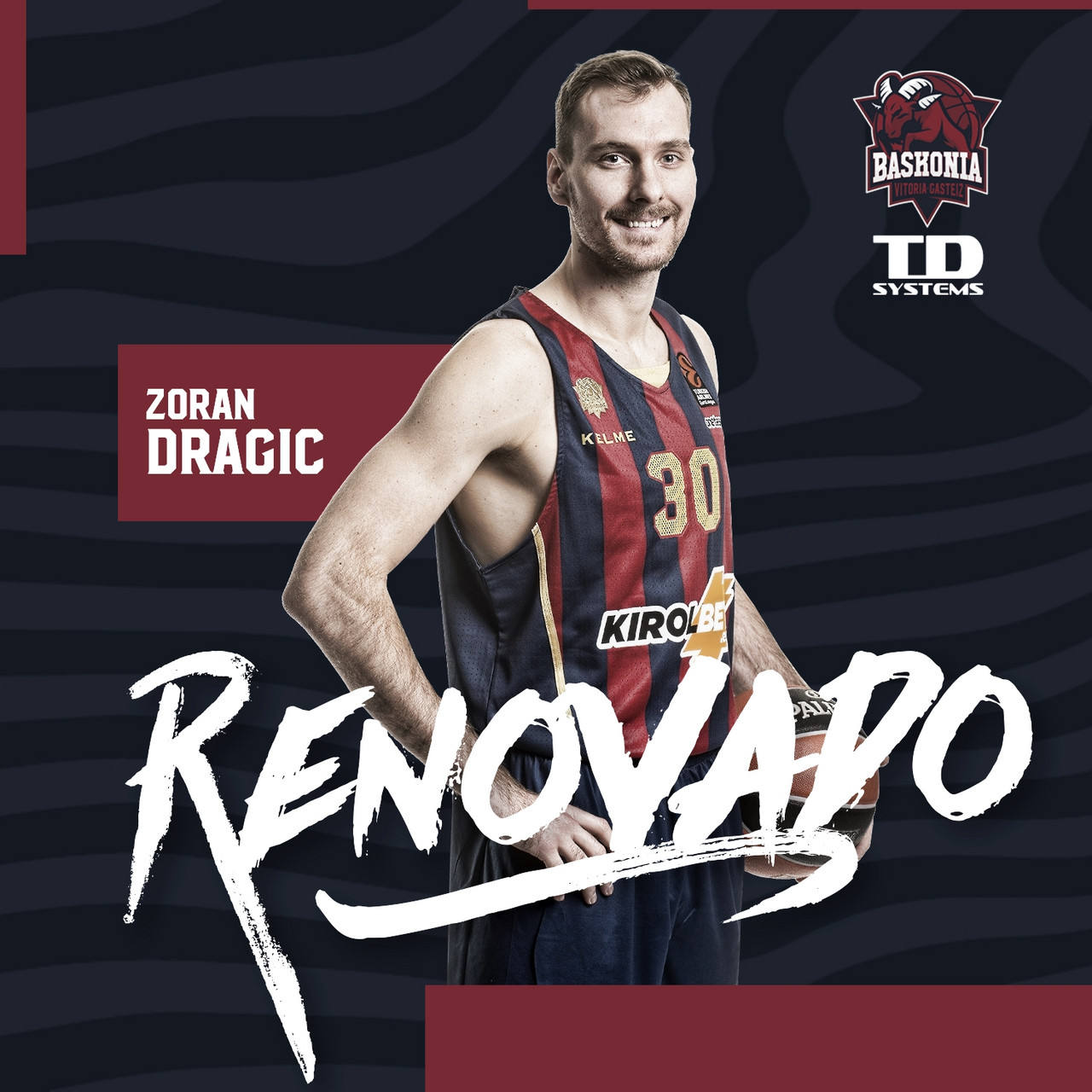 Zoran Dragic, baskonista hasta 2021