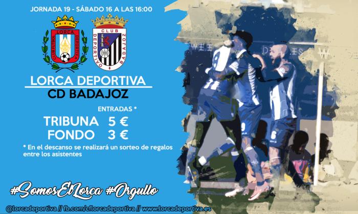Previa Lorca Deportiva - CD Badajoz: acabar el año fuera del descenso