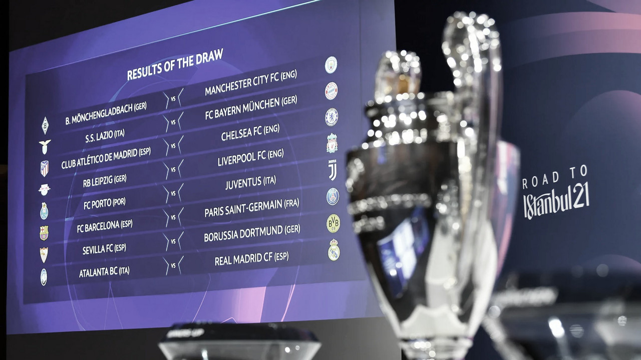 Barcelona x PSG se enfrentam no mata-mata da Champions; veja os confrontos