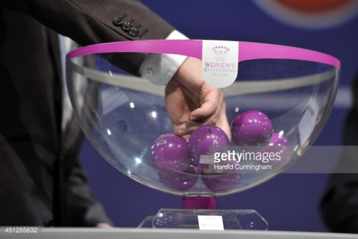 UEFA Women's Champions League Quarter Finals Draw