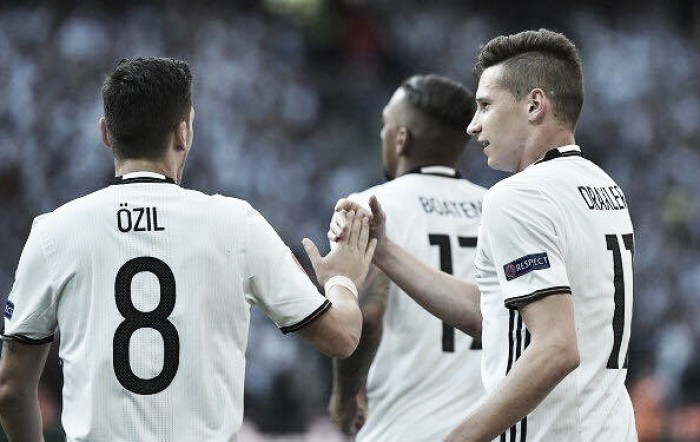Germany 3-0 Slovakia: Draxler stars as Germany run riot against Slovakia to progress to quarter-final