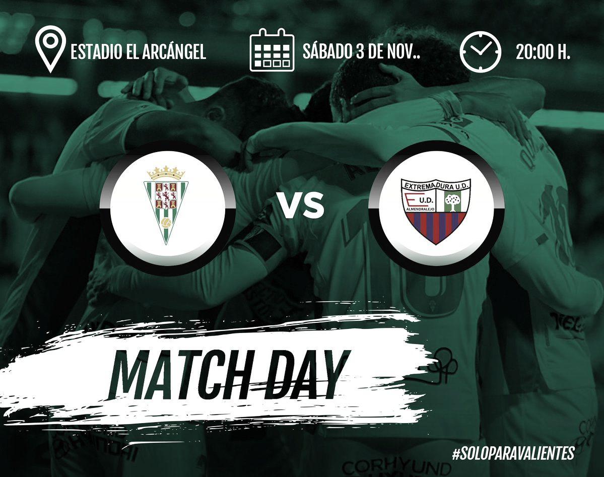 Previa Córdoba CF - Extremadura UD: a por los tres puntos