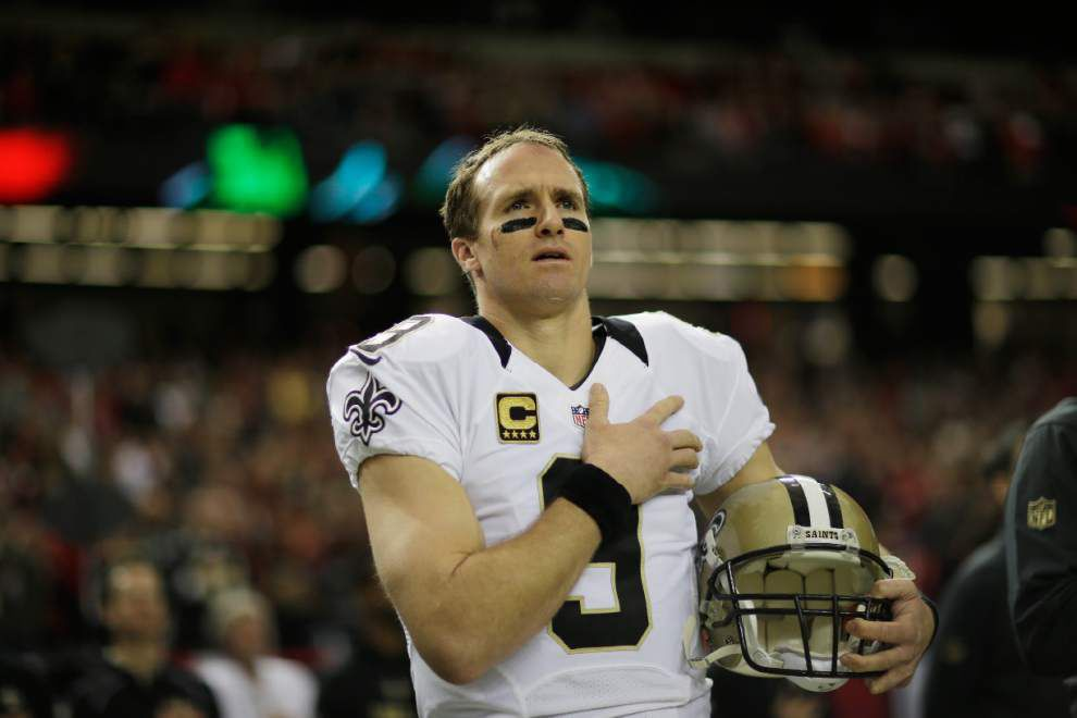 Drew Brees comments on potential national anthem protests, receives criticism