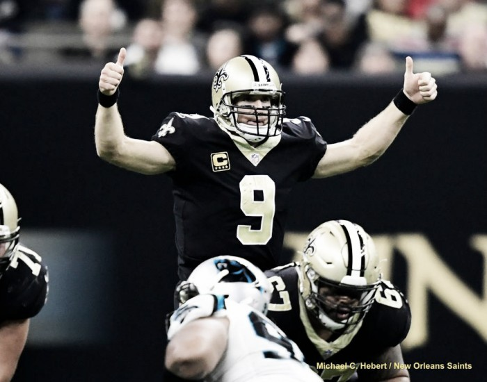 Brees encamina a los Saints a la ronda divisonal