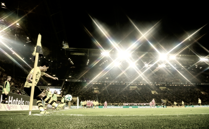 Borussia Dortmund-Hoffenheim, Aubameyang sbaglia a porta vuota