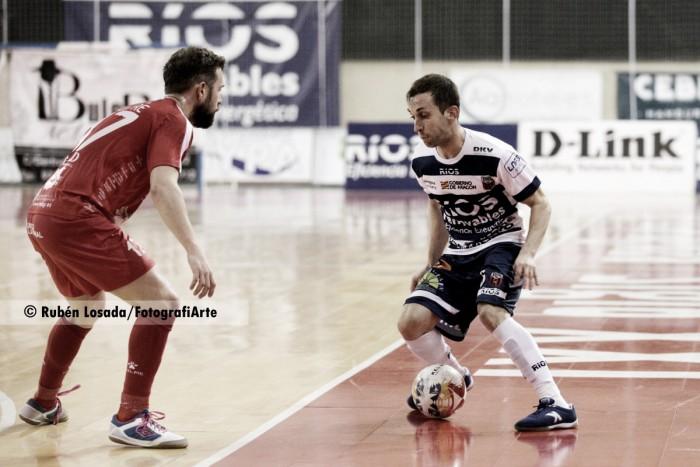 Ríos prolonga su buena racha ante Segovia