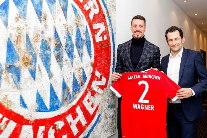 Hoffenheim striker Sandro Wagner completes return to Bayern Munich