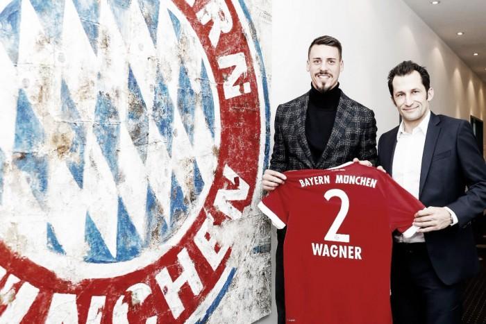 Bayern de Munique assina com atacante Sandro Wagner até 2020 — Alemão