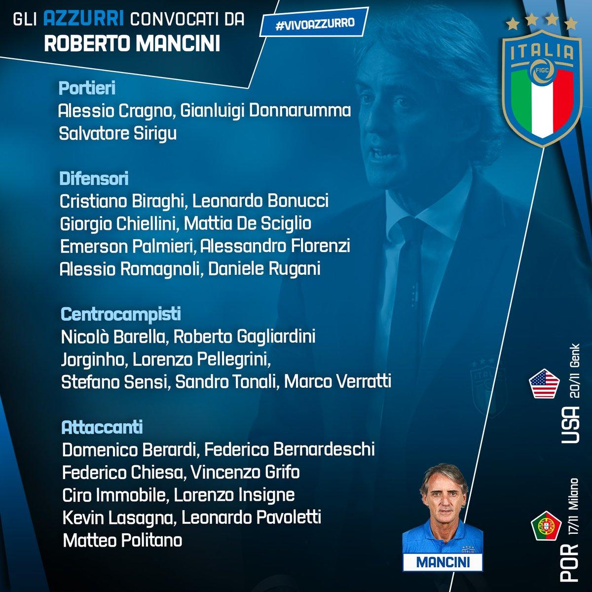 """Italia, senti Mancini: """"Dobbiamo giocare un bel calcio e far riavvicinare i tifosi"""""""