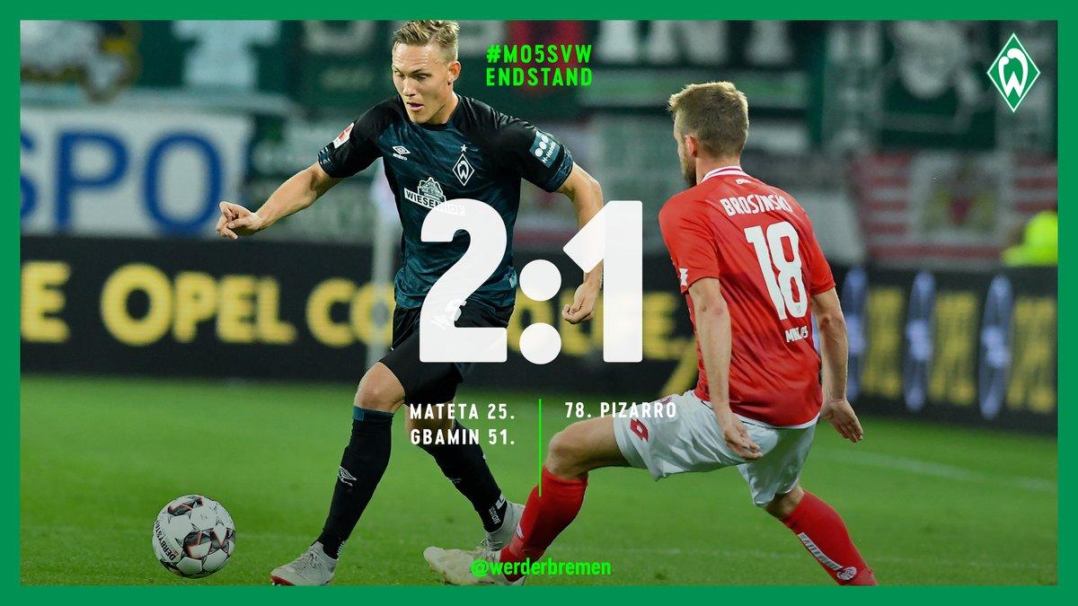 Ancora Hazard, il Mainz blocca il Werder Brema