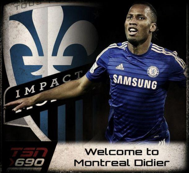 Oficial: Didier Drogba é a mais recente estrela do Montreal Impact