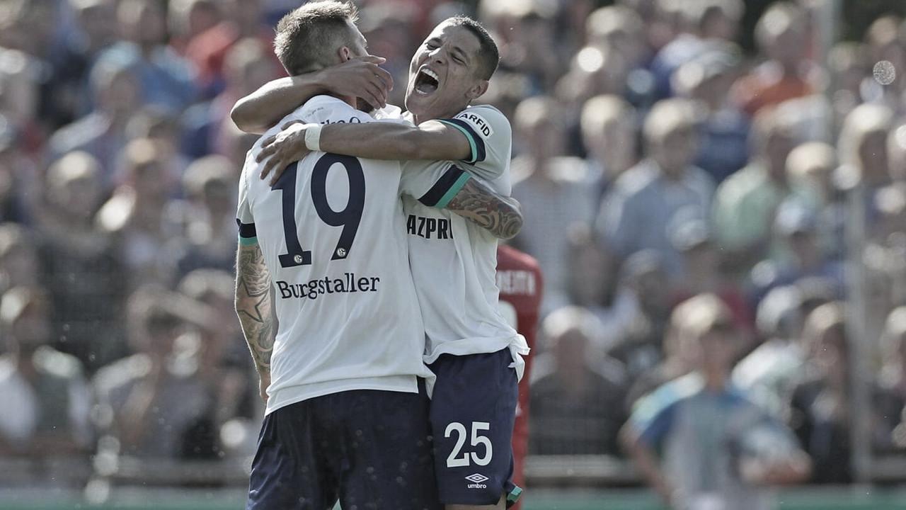 Schalke 04 começa temporada com goleada contra Drochtersen/Assel pela DFB Pokal