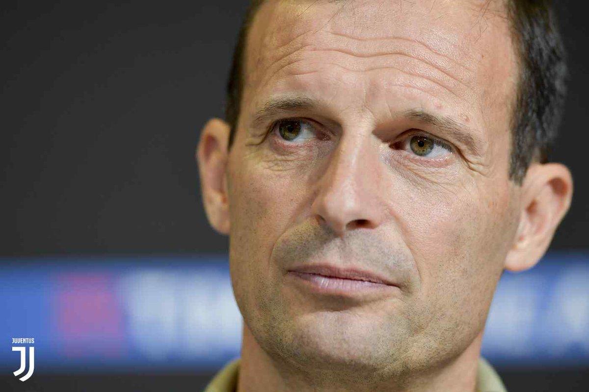 Juventus - Milan, la conferenza stampa di Allegri