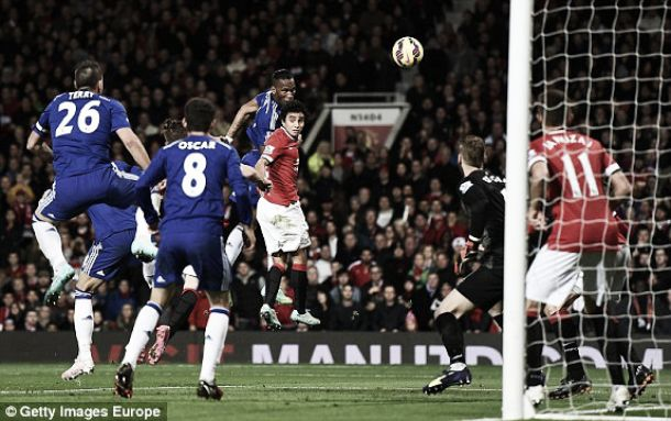 Chelsea vs Manchester United Live Result and EPL Scores 2015