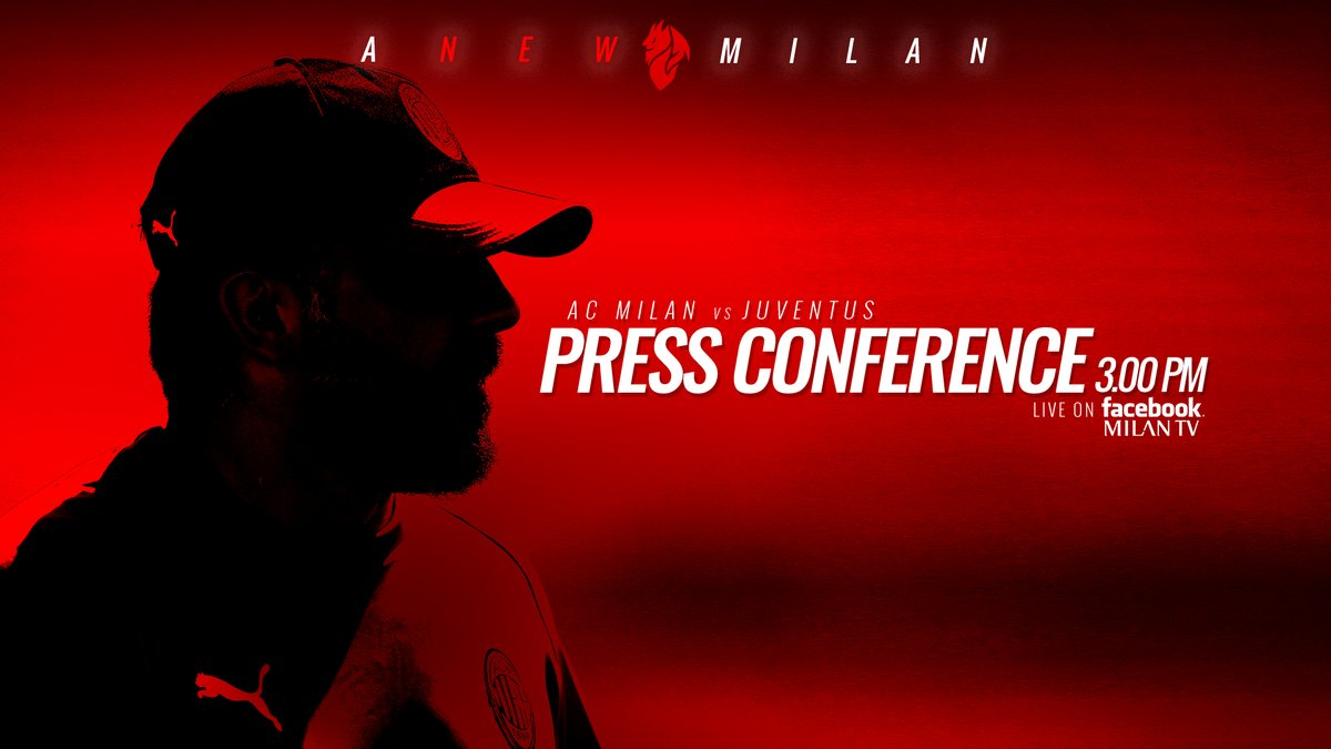 Milan, domani arriva la Juventus: la conferenza stampa di Gattuso