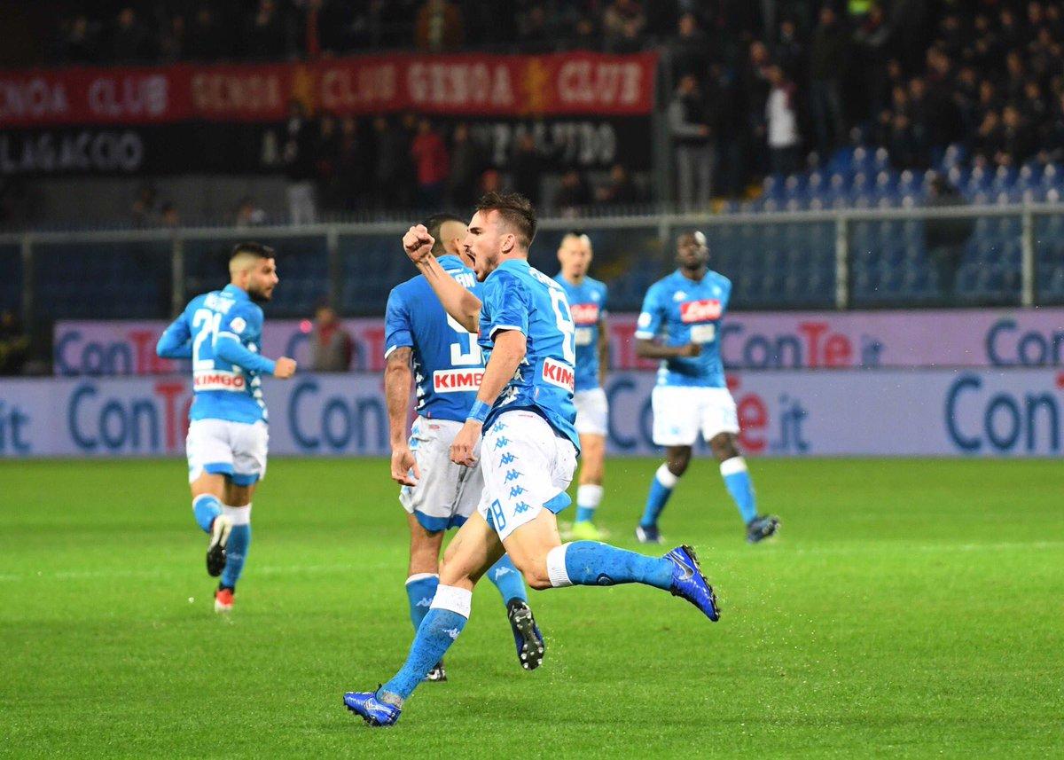 Genoa-Napoli 1-2: Vince la pioggia