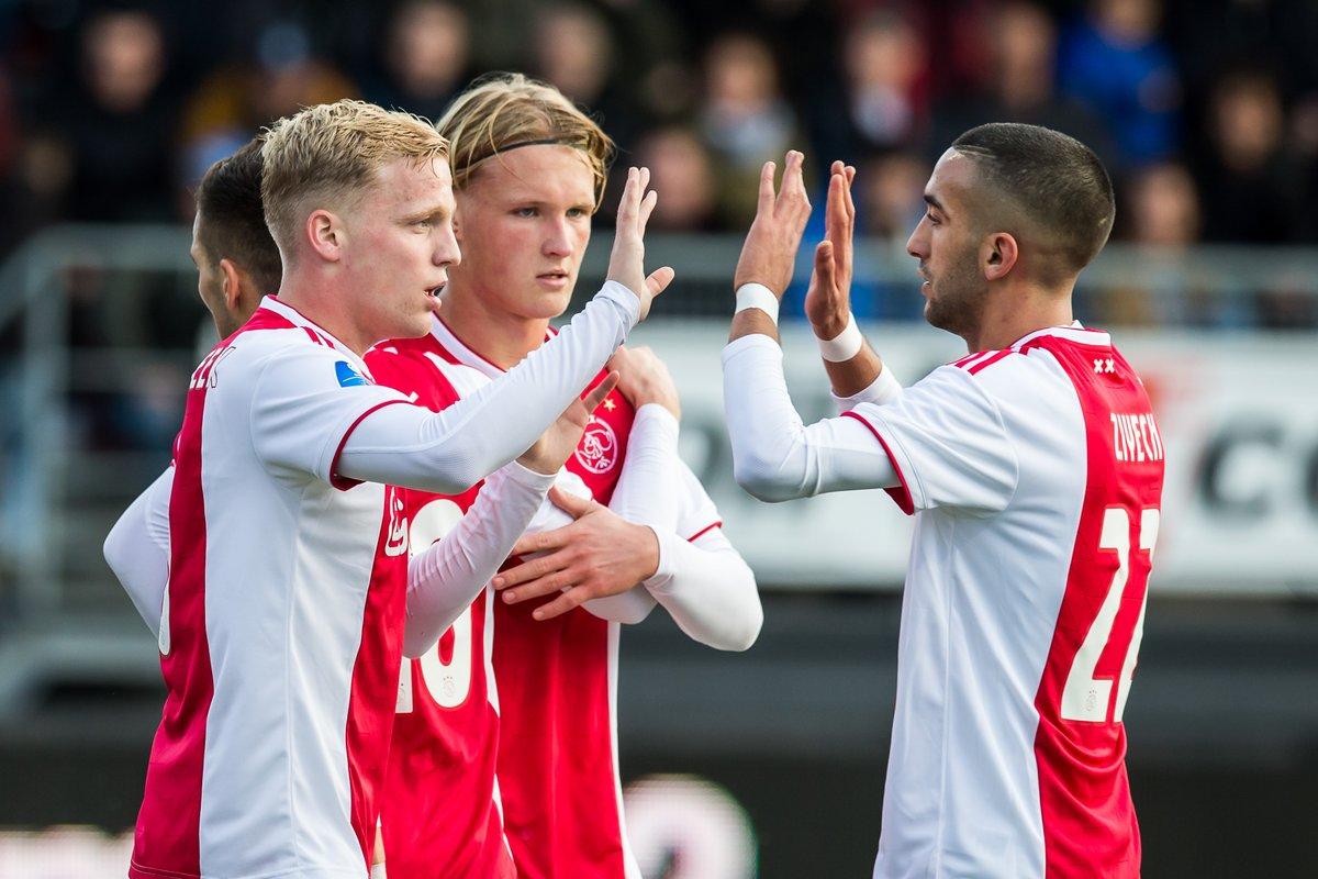 Eredivisie: Ajax forza 7 ma il PSV non molla, il Groningen vince ancora