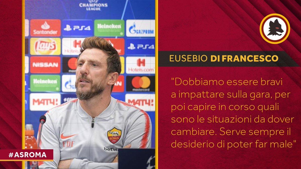 """Roma, Di Francesco in conferenza stampa: """"Serve più continuità"""""""