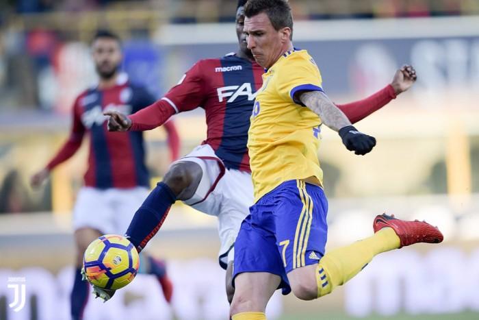 Mandzukic in dubbio per Juventus-Roma?