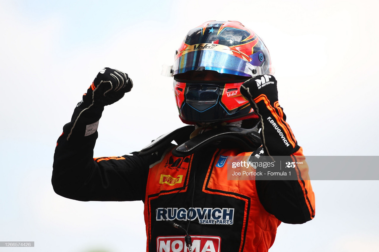 F2 Sprint Race - Drugovich makes it back to back wins for MP