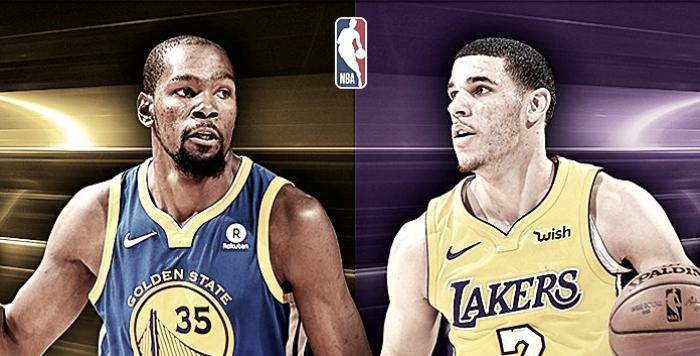 Los Angeles Lakers x Golden State Warriors ao vivo online pela NBA