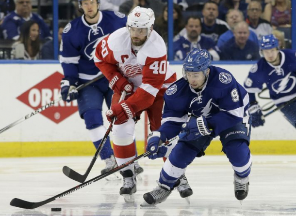 Red Wings Steal Another In Tampa; Take 3-2 Series Lead