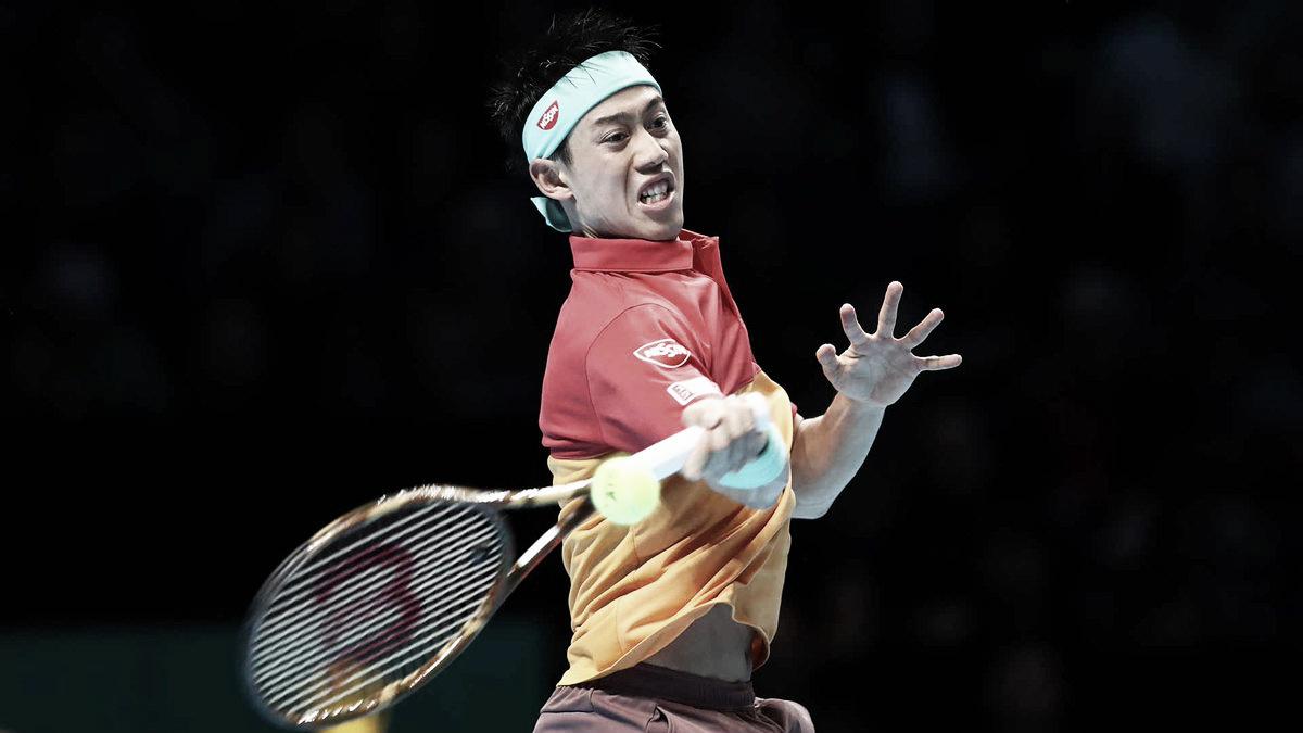 Nishikori derrota a Federer cuatro años después