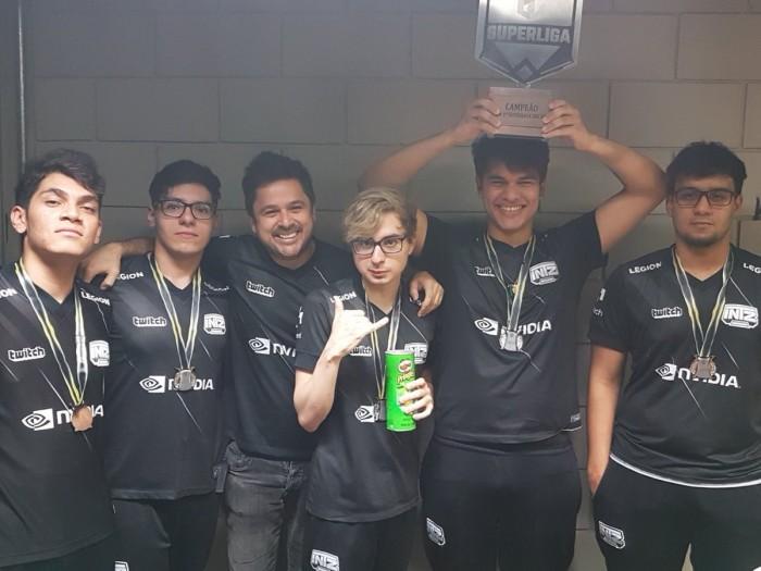 INTZ supera ProGaming e conquista primeiro título com nova line-up
