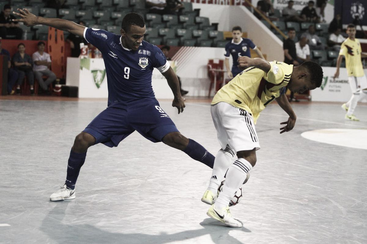 Colombia fue goleado por Brasil en el Sudamericano sub 20 de futsal