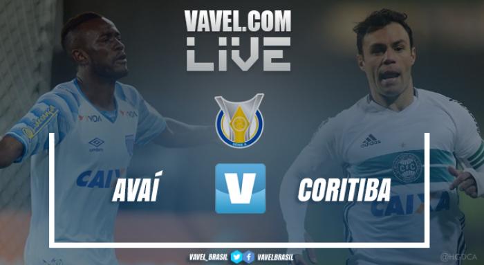 Resultado Avaí x Coritiba pelo Campeonato Brasileiro 2017 (1-4)