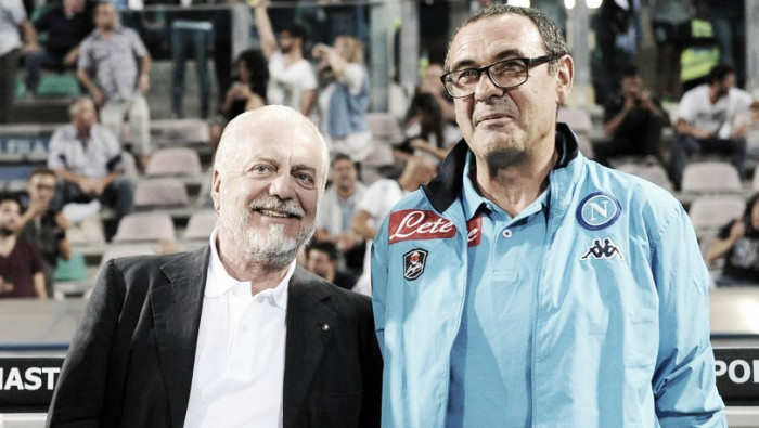 """Napoli e la promessa di De Laurentiis: ''Faremo innesti importanti per la Champions"""""""