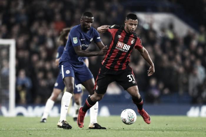 William deixa sua marca e Chelsea avança às semifinais ao bater o Bournemouth